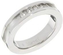 Esprit ESRG10896A-Anello in acciaio INOX, Acciaio inossidabile, 19, colore: bianco, cod. ESRG10896A18