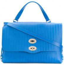 Zanellato - Borsa tote 'Postina M' - women - Leather - OS - Blu