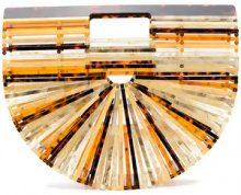 - Cult Gaia - Borsa a mano Ark piccola - women - Acrylic - Taglia Unica - Giallo & arancio