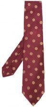 Kiton - Cravatta floreale - men - Silk - OS - RED