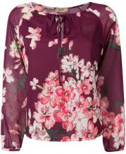 Liu Jo - floral print blouse - women - Polyester - 40, 42, 44, 46 - RED