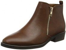 New Look Darleen 2-Pu Zip Day Boot, Stivaletti Donna, Marrone (Tan 18), 37 EU