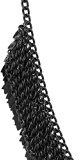 collana nera di cluster in ottone per donne moda Bigiotteria indiana