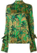 Marni - Blusa con stampa floreale - women - Viscose - 40 - Multicolore