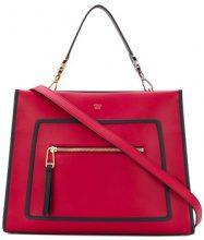 Fendi - Borsa a mano Runaway - women - Calf Leather - One Size - Rosso