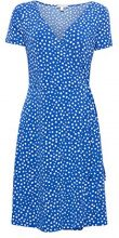 ESPRIT 038ee1e023, Vestito Donna, Multicolore (Bright Blue 2 411), Large