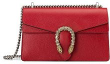 Gucci - Dionysus leather shoulder bag - women - Leather/Microfibre - One Size - RED