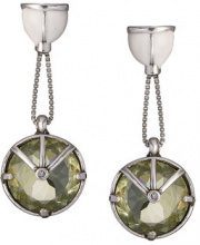 Camila Klein - crystal embellished drop earrings - women - metal - OS - unavailable