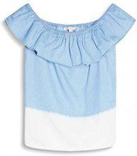 ESPRIT 057ee1f008, Camicia Donna, Multicolore (Light Blue), 36