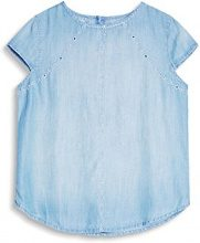 edc by Esprit 067cc1f023, Camicia Donna, Blu (Blue Light Wash 903), Small