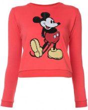 Marc Jacobs - maglione con Mickey Mouse ricamato - women - Cotone - S, M, XS - RED