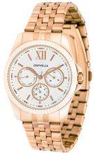 Orphelia OR53471387 - Orologio da polso unisex, cinturino in acciaio inox colore oro rosa