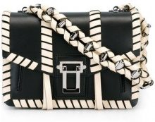 Proenza Schouler - Hava Whipstitch Chain Shoulder Bag - women - Calf Leather - OS - Nero