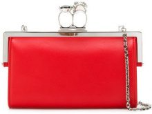 Alexander McQueen - skull detail wallet - women - Leather - One Size - RED