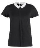 PREPPA  - T-shirt con stampa - ecru/noir