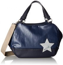 Mustang Kansas Candy Handbag Lhz - Borsette da polso Donna, Blu (Dark Blue), 16x25x40 cm (B x H T)