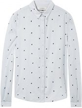 Scotch & Soda Maison Classic Long Sleeve Shirt with Allover Print, Camicia Donna, (Combo B 18), X-Large
