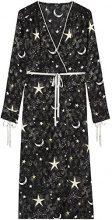FIND MDR 40548 vestiti donna, Nero (Black Stary Night), 40 (Taglia Produttore: X-Small)