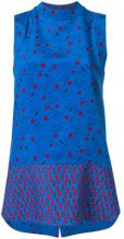 Marni - Blusa senza maniche - women - Silk/Cotone - 42, 38, 40 - BLUE