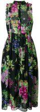 Dodo Bar Or - Vestito con stampa a fiori - women - Polyester - 44, 46, 40 - Nero