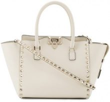 Valentino - Borsa tote 'Rockstud' Valentino Garavani - women - Leather - One Size - Color carne & neutri