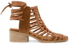 Kitx - Sandali 'Cage' - women - Leather - 36, 37, 38, 40 - BROWN