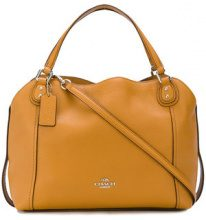 Coach - Borsa a spalla 'Edie' - women - Calf Leather - OS - Color carne & neutri