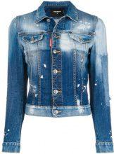 - Dsquared2 - Giacca in denim - women - cotone/fibra sintetica - 42, 40 - di colore blu