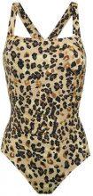 Sissa - Gabi animal print swimsuit - women - Polyamide/Spandex/Elastane - P - Color carne & neutri