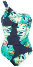 - Brigitte - one shoulder swimsuit - women - Polyamide/Spandex/Elastane - PP, P, M, G, GG - unavailable