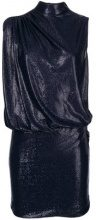 Love Moschino - sleeveless fitted dress - women - Viscose/Polyester/Spandex/Elastane - 42, 44, 46 - Blu