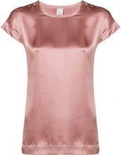 - Pinko - round neck top - women - seta - XS - di colore rosa