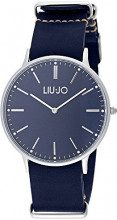 Liu Jo Navy - watches (Wristwatch, Male, Stainless steel, Leather, Blue, Round)