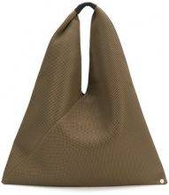 Mm6 Maison Margiela - Japanese tote bag - women - Polyester/Polyamide - One Size - Marrone