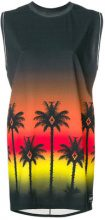 Marcelo Burlon County Of Milan - Vestito 'Palms' - women - Cotone - XS, S, XXS, M - MULTICOLOUR