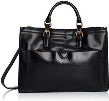 SwankySwansKerry Office Work - Borsa Tote Donna, Nero (Black (Black)), Taglia Unica