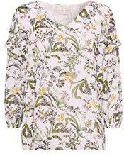 ESPRIT 048ee1f003, Camicia Donna, (off White 110), 44 (Taglia Produttore: 38)