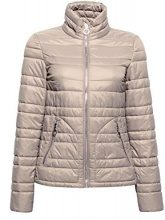 edc by Esprit 018cc1g012, Giacca Donna, Marrone (Taupe 240), Large