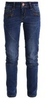 NMEVE - Jeans slim fit - dark blue denim