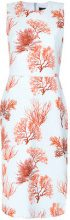 Andrea Marques - printed shift dress - women - Cotone/Spandex/Elastane - 38 - unavailable