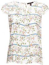 ESPRIT Collection 058eo1f002, Camicia Donna, Bianco (off White 2 111), 50 (Taglia Produttore: 44)