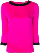 Chanel Vintage - Blusa bicolor - women - Silk - 38 - Rosa & viola