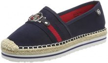 Tom Tailor 4892906, Espadrillas Donna, Blu (Navy), 38 EU