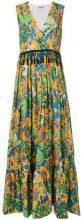 MSGM - Abito con nappe - women - Cotone - 42, 38, 40 - Multicolore