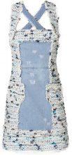Blumarine - shoulder strapped dress - women - Cotone/Viscose/Polyester - 42 - Blu