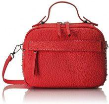 Chicca Borse 8614, Borsa a Mano Donna, Rosso (Red), 23x18x12 cm (W x H x L)