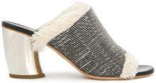 Proenza Schouler - Mules con tacco - women - Nappa Leather - 35, 36, 41 - Nero