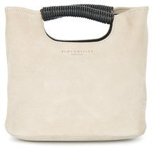 Simon Miller - Borsa a mano mini 'Birch' - women - Calf Leather - One Size - NUDE & NEUTRALS