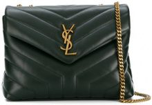 Saint Laurent - Loulou shoulder bag - women - Calf Leather - OS - Verde