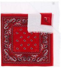 Destin - Sciarpa con ricamo - women - Cotone/Wool - OS - RED